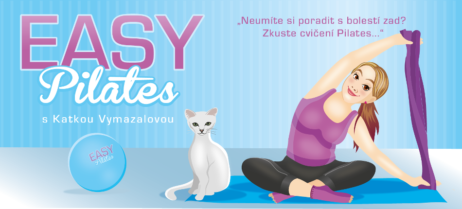 EASY Pilates s Katkou Vymazalovou